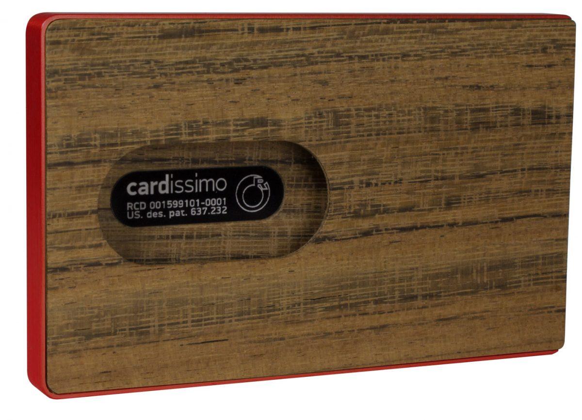 Amazaque Card Case Red