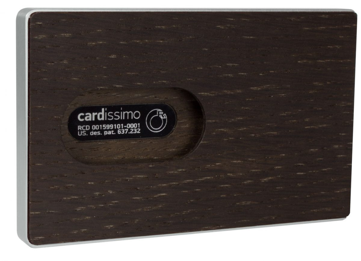 Amazaque Card Case Silver